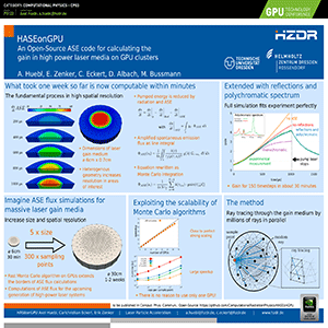 Computational Physics Conference Posters | GTC 2018