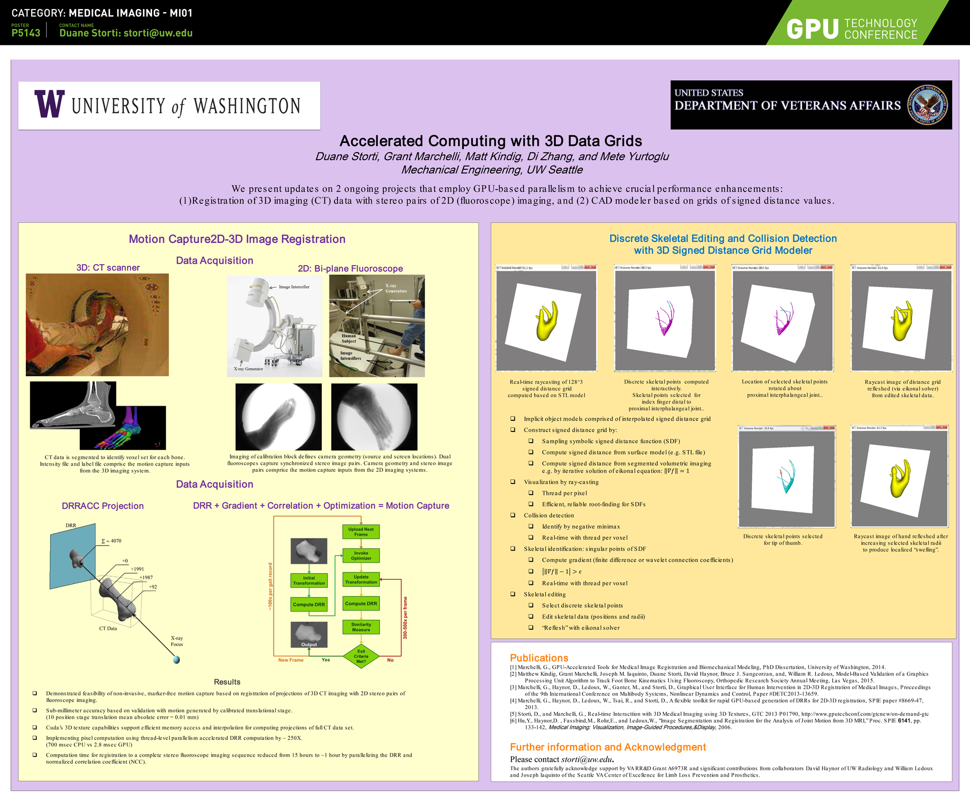 Medical Imaging Conference Posters | GTC 2018