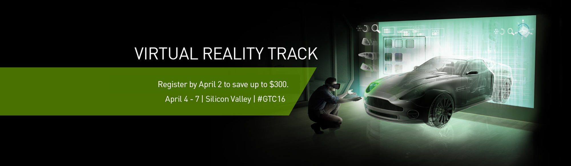 Explore Virtual Reality at GTC